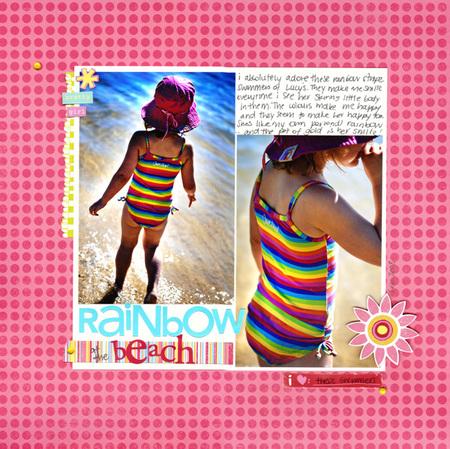 Rainbowatthebeach